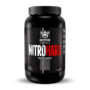 Whey Protein Nitro Hard Darkness Sabor Chocolate com Amendoim  - Integralmédica 907g
