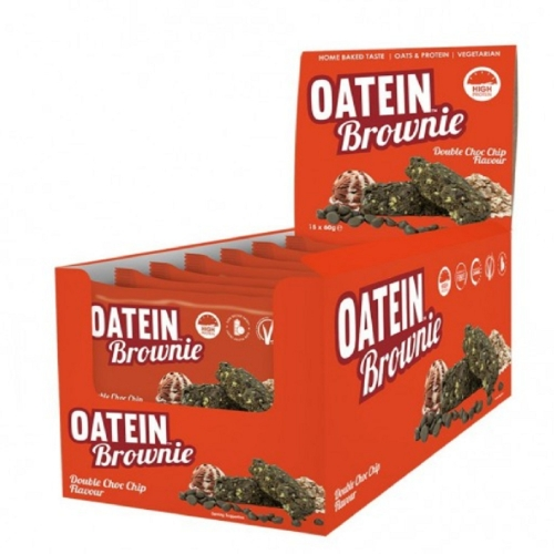 Oatein Cookies - Sabor Double Chocolate Chip Caixa com 12 unidades de 75g