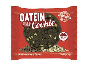 Oatein Cookies - Sabor Double Chocolate Chip 1 Unidade de 75g