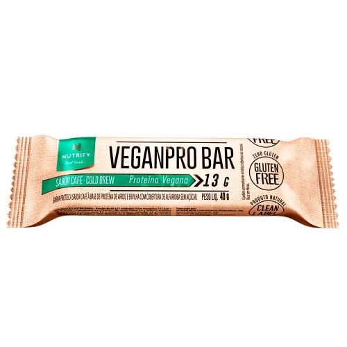 Veganpro Bar Sabor Coffe (1 Unidade de 40g) - Nutrify