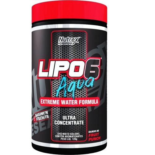 Lipo 6 Aqua Sabor Uva (120g) - Nutrex