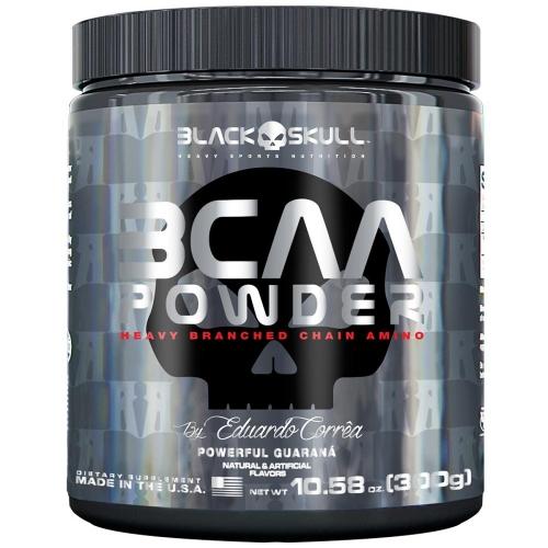 BCAA Powder Sabor Blackberry Lemonade  (300g) - Black Skull