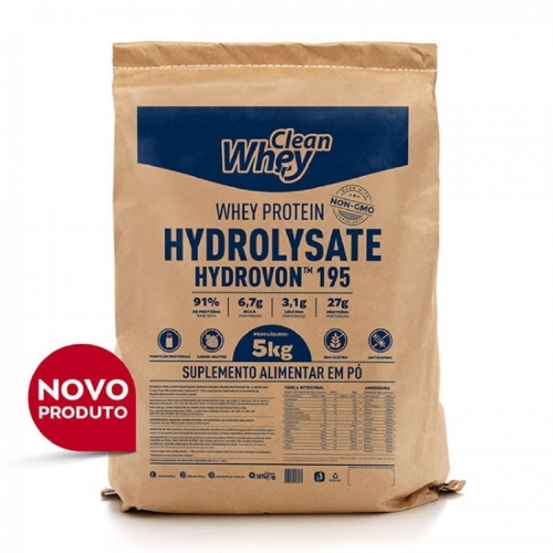 Hydrovon - Whey Protein Hidrolisado - Clean Whey - 5Kg