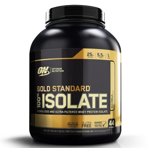 100% Isolate Gold Standard Sabor Chocolate (1,32Kg) - Optimum Nutrition