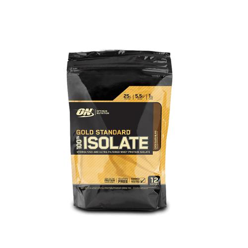 100% Isolate Gold Standard  Sabor Morango (360g) - Optimum Nutrition