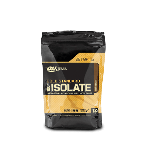 100% Isolate Gold Standard Sabor Baunilha (360g) - Optimum Nutrition