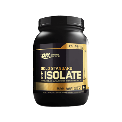 100% Isolate Gold Standard Sabor Morango (1,32Kg) - Optimum Nutrition