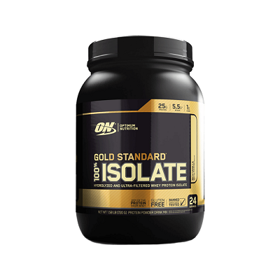 100% Isolate Gold Standard Sabor Morango (720g) - Optimum Nutrition