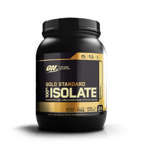 100% Isolate Gold Standard Sabor Baunilha (720g) - Optimum Nutrition
