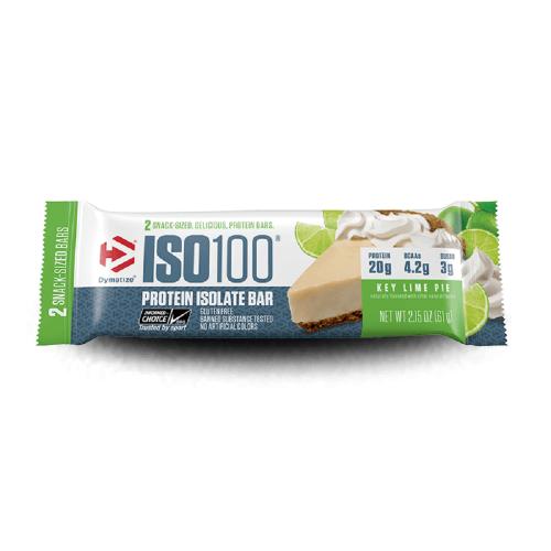 ISO 100 Protein Isolate Bar Sabor Torta de Limão (64g) - Dymatize
