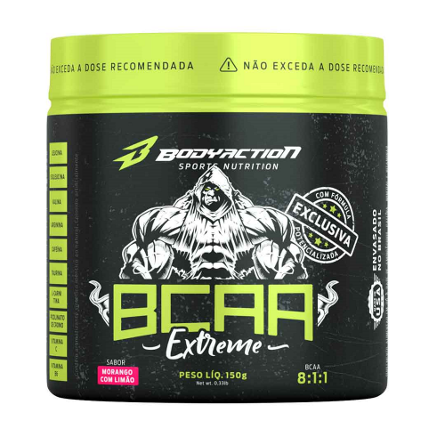 BCAA Extreme Sabor Uva com Blueberry (150g) - Body Action