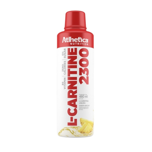 L-Carnitine 1400 Sabor Abacaxi (480ml) - Atlhetica Nutrition