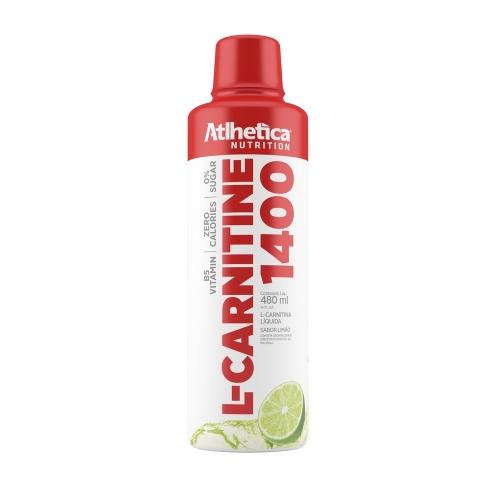 L-Carnitine 1400 Limão Sabor (480ml) - Atlhetica Nutrition