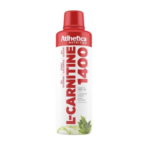 L-Carnitine 1400 Sabor Chá Verde  (480ml) - Atlhetica Nutrition