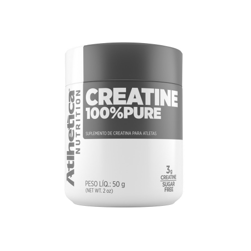Creatina 100% Pure (50g) - Atlhetica Nutrition