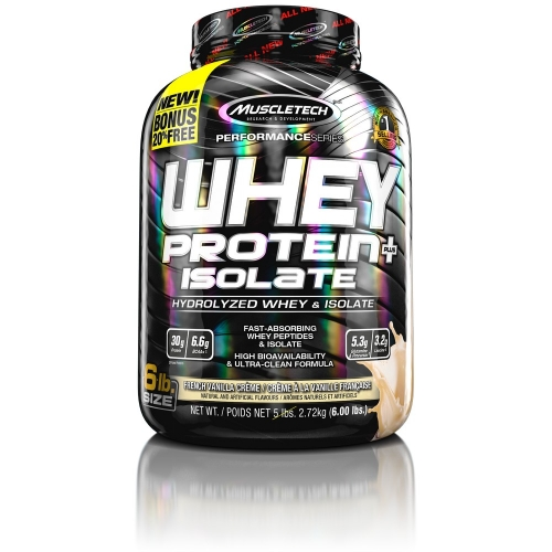Whey Protein Isolate Sabor Baunilha (2,72Kg) - Muscletech