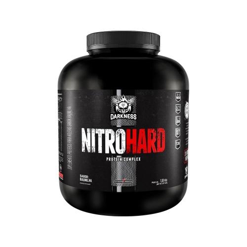 Whey Protein Nitro Hard Darkness Sabor chocolate 1,8KG - Integralmedica