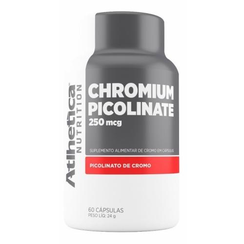 Picolinato de Cromo (60 Cápsulas) - Atlhetica Evolution