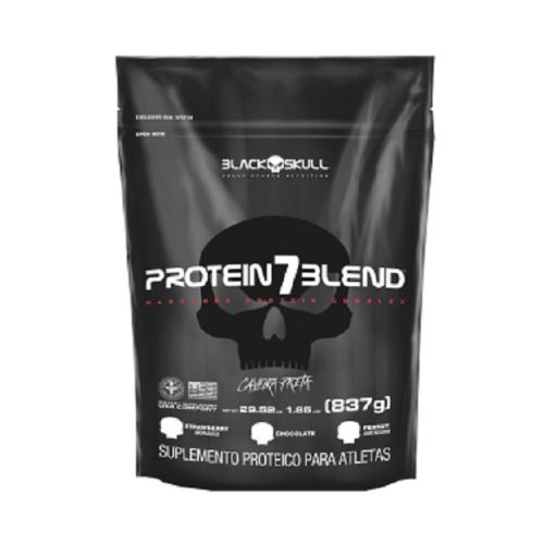 Protein 7 Blend Sabor Morango (837G) Refil - Black Skull