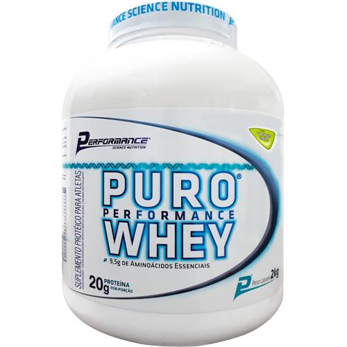 Puro Whey Sabor Torta de Limão  (2kg) - Performance Nutrition