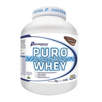 Puro Whey Sabor Caramelo (2kg) - Performance Nutrition