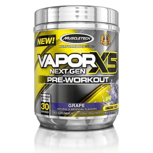Vapor X5 Sabor Uva (310g) - Muscletech