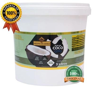 Óleo de Coco Extra Virgem (3 Litros) - Aroma da Serra