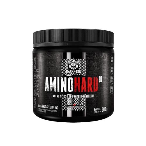Amino Hard 10 Sabor Frutas Vermelhas  (200g) - Integralmedica