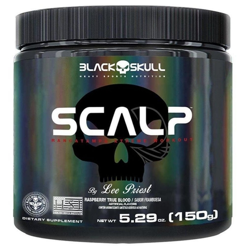 Scalp Sabor Framboesa (150g) - Black Skull
