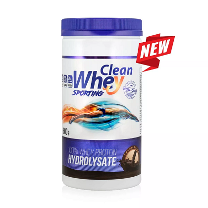 Whey Protein Hidrolisada Sabor chocolate - Clean Whey - 600g