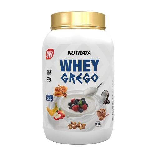 Whey Grego Sabor Natural  (900g) - Nutrata