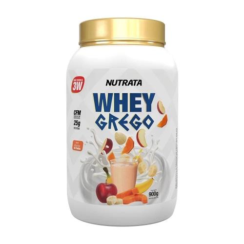 Whey Grego Sabor Vitaminas de Fruta (900g) - Nutrata
