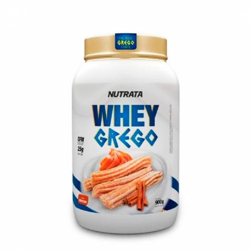 Whey Grego Sabor Churros (900g) - Nutrata