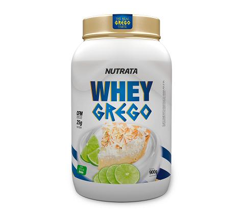 Whey Grego Sabor Limão (900g) - Nutrata