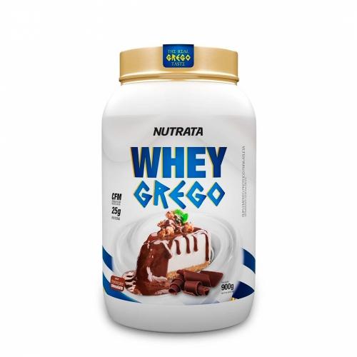 Whey Grego Sabor Chocolate (900g) - Nutrata