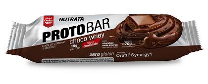 ProtoBar Sabor Chocolate (1 unidade de 40g) - Nutrata