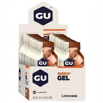 Energy Gel Sabor Açaí c/ banana (24 Sachês 32g) - GU