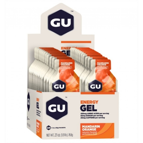 Energy Gel Sabor Laranja (24 Sachês 32g) - GU