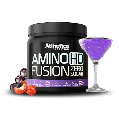 Amino HD Fusion Sabor Guarana com açaí (450G) Atlhetica Nutrtion