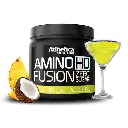 Amino HD Fusion Sabor Piña Colada (450G) Atlhetica Nutrtion