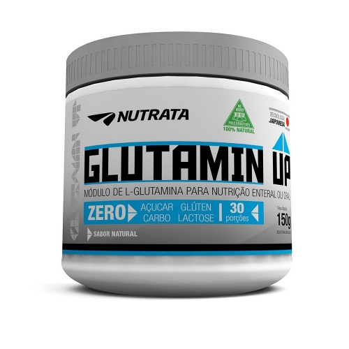 Glutamin UP sem sabor (150) - Nutrata
