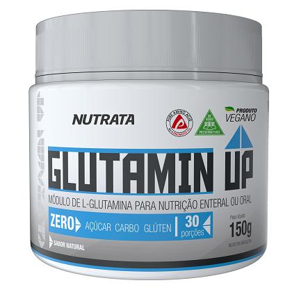 Glutamin UP sem sabor (150) - Nutrata