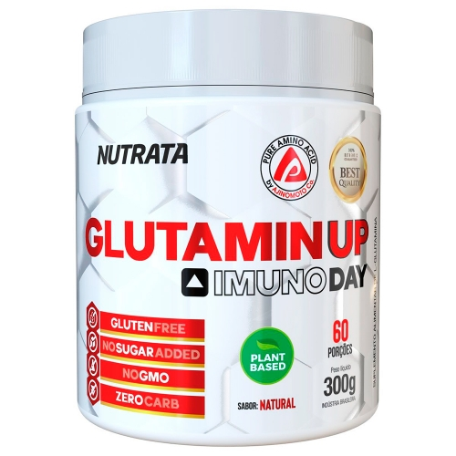 Glutamin UP Sem sabor (300g) - Nutrata