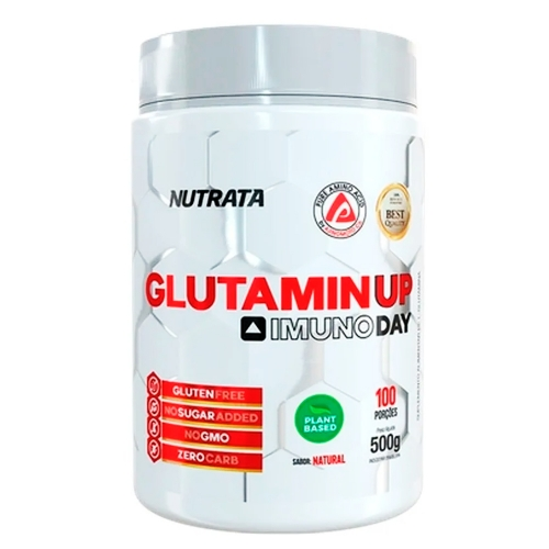 Glutamin UP sem sabor  (500g) - Nutrata