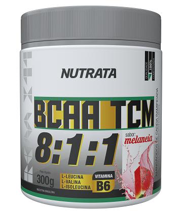 BCAA 8:1:1 com TCM Sabor Melancia (300g) - Nutrata