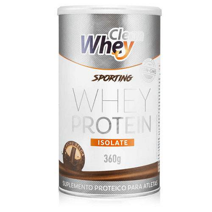 Clean Whey Isolate (360g) - Sabor Chocolate Belga
