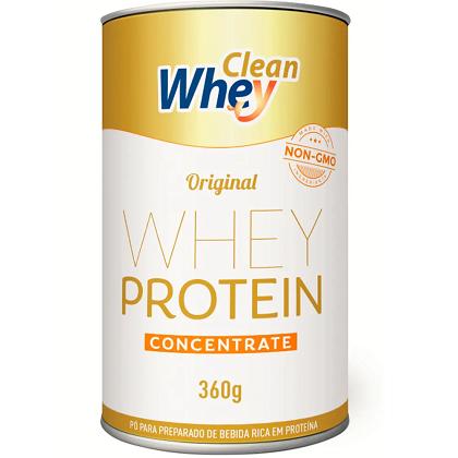 Clean Whey Concentrado Sabor Banana e Canela (360g) - Clean Whey