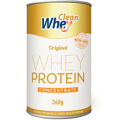 Clean Whey Concentrado Sabor Original (360g) - Clean Whey