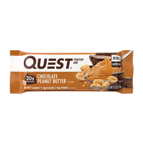 Quest Bar - Protein Bar Sabor Peanut Butter Brownie Smash (60g) - Quest Nutrition