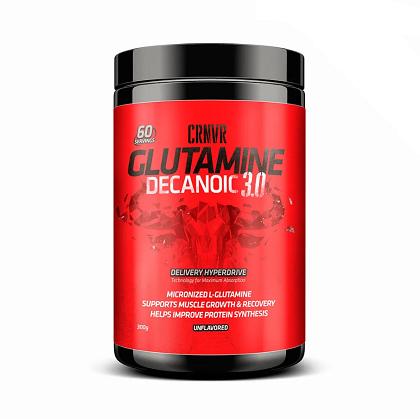 Glutamina Decanoic sem sabor (300g) - CRNVR